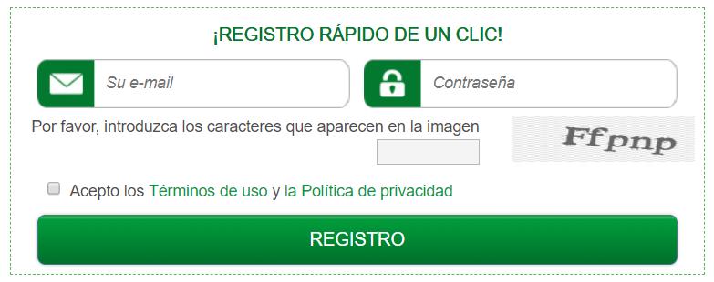 registrarme en greenpantera