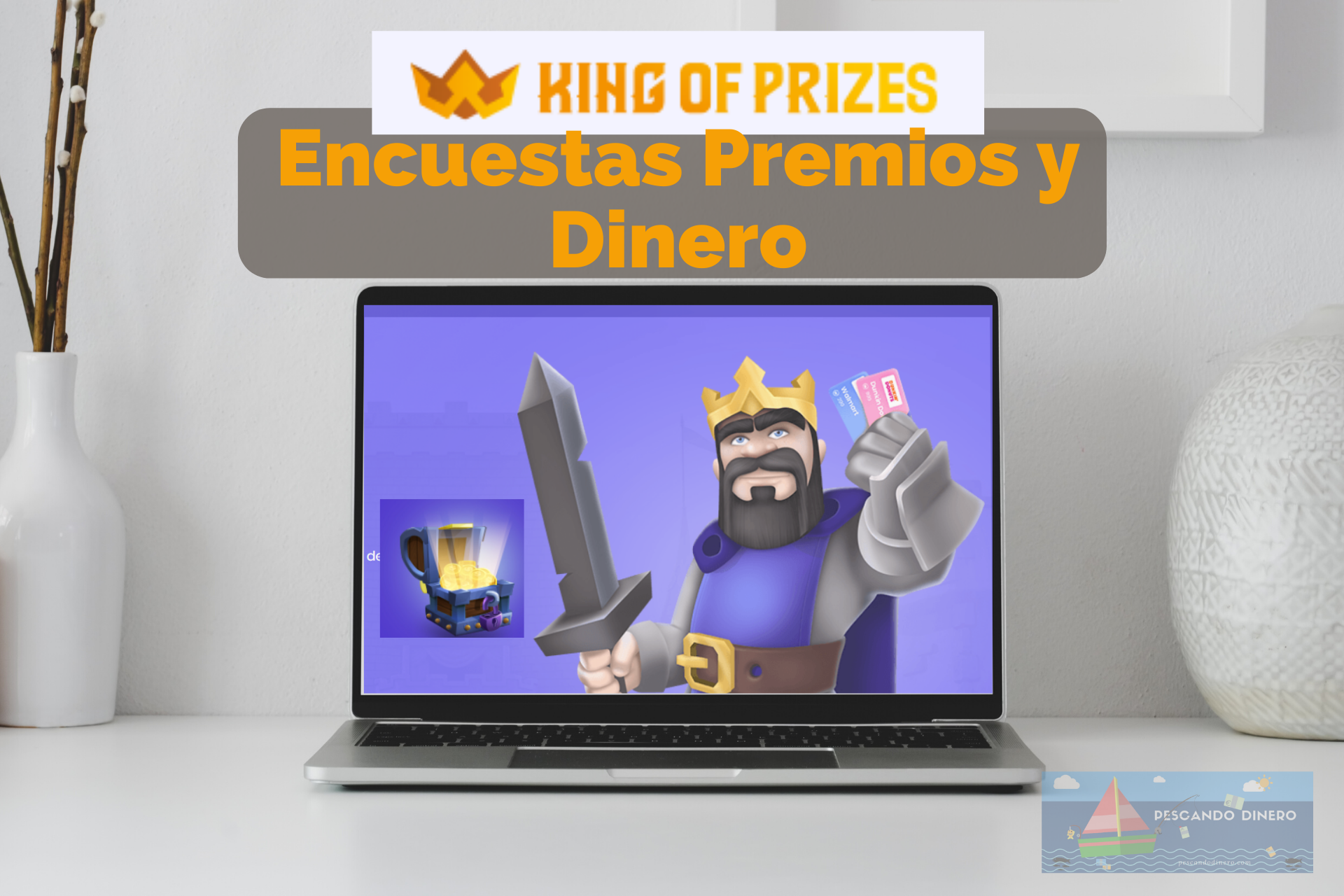 king of prizes ganar donero