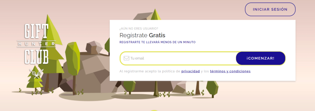 registro gift hunter club